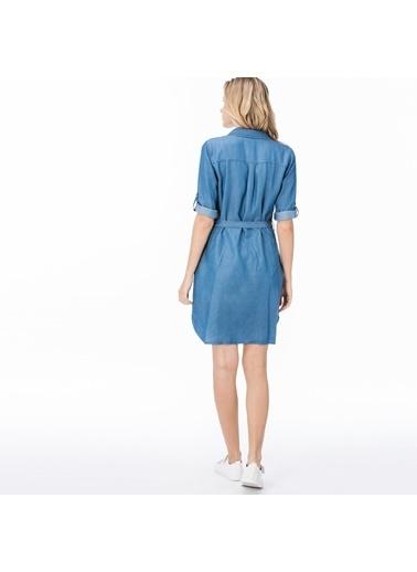 Lacoste Kadın  Elbise EF0912 Lacivert